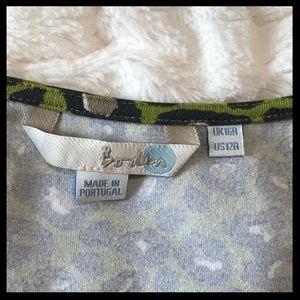 Boden Dresses - Boden Leopard Print Faux Wrap Dress